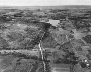 Lake Canobolas - Aerial View